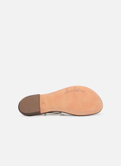 Sandales et nu-pieds Sam Edelman Gigi Argent vue haut