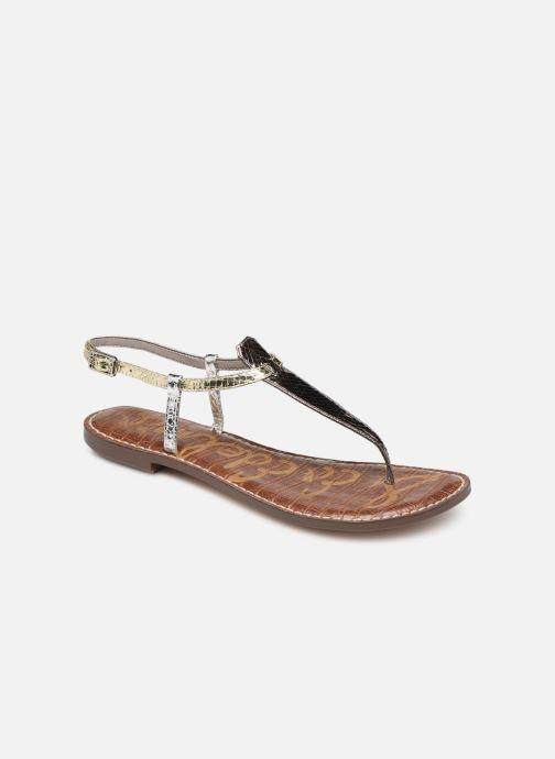 Sandales et nu-pieds Sam Edelman Gigi Argent vue détail/paire