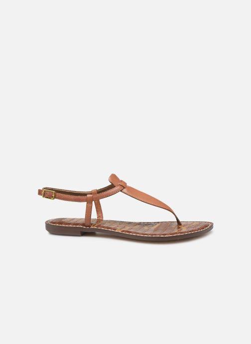 Sandales et nu-pieds Sam Edelman Gigi Marron vue derrière