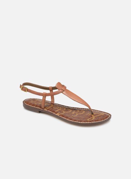 Sandales et nu-pieds Sam Edelman Gigi Marron vue détail/paire