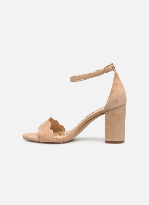 Sandalen Sam Edelman Odila Kid Suede Leather Beige voorkant