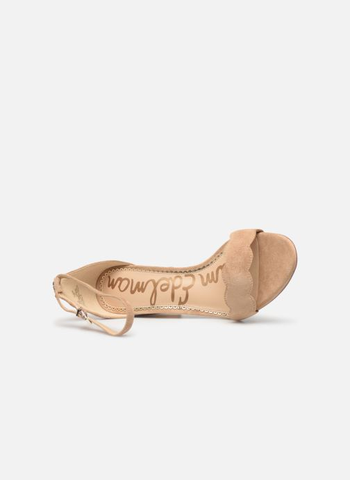 Sandalen Sam Edelman Odila Kid Suede Leather Beige links