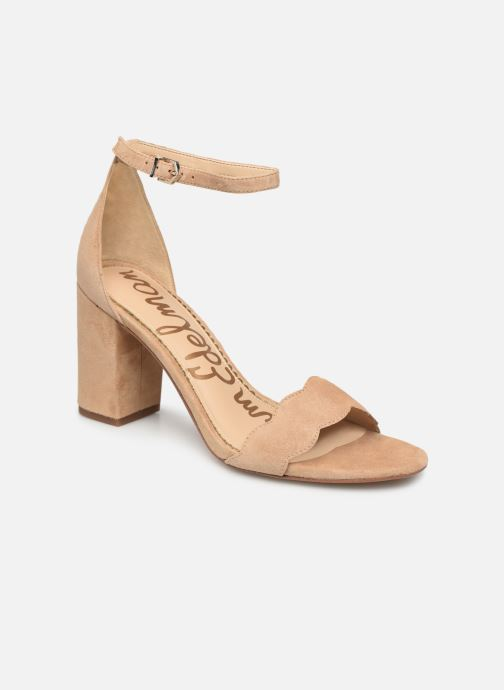 Sandalen Sam Edelman Odila Kid Suede Leather Beige detail