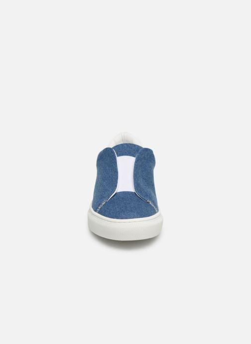Baskets KLÖM Kiss Bleu vue portées chaussures