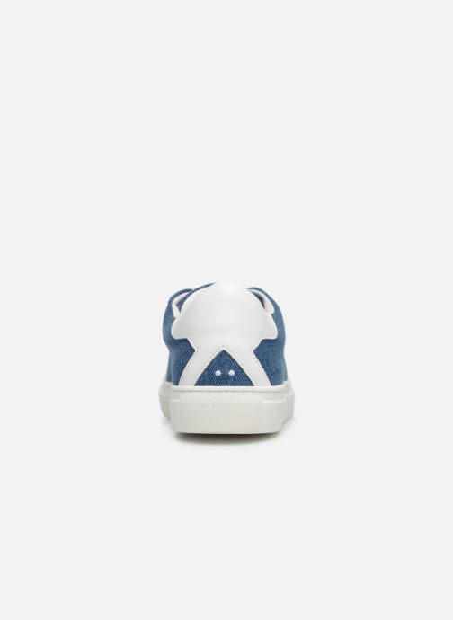 Baskets KLÖM Kiss Bleu vue droite