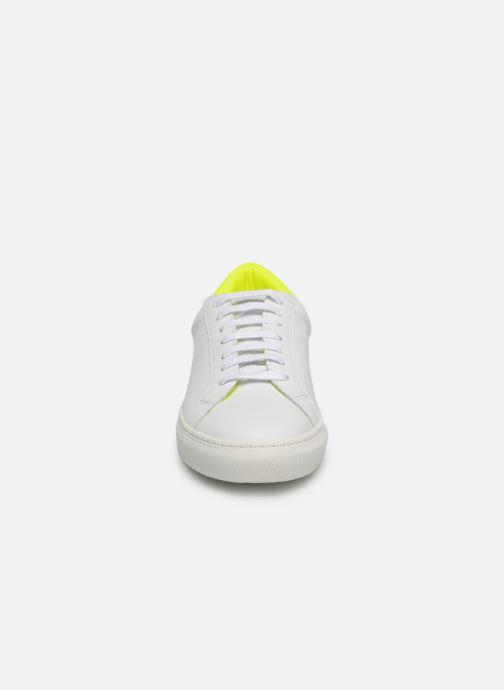 Baskets KLÖM Keep Jaune vue portées chaussures