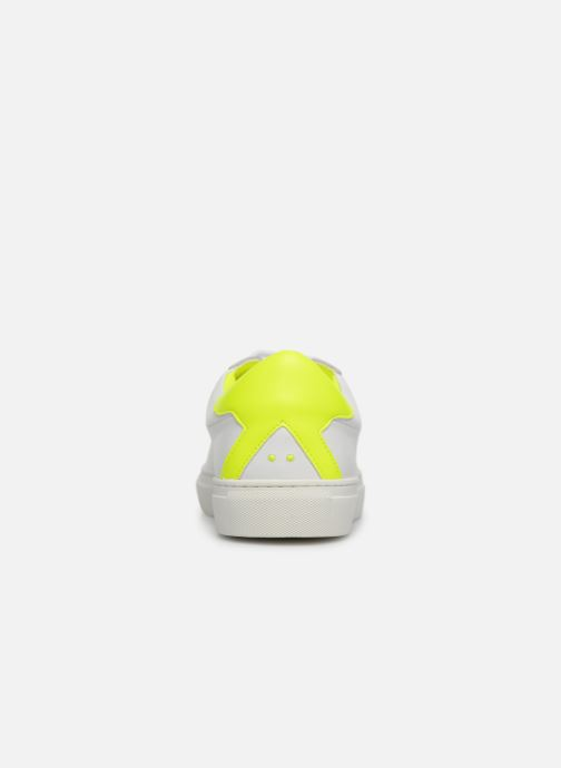 Baskets KLÖM Keep Jaune vue droite