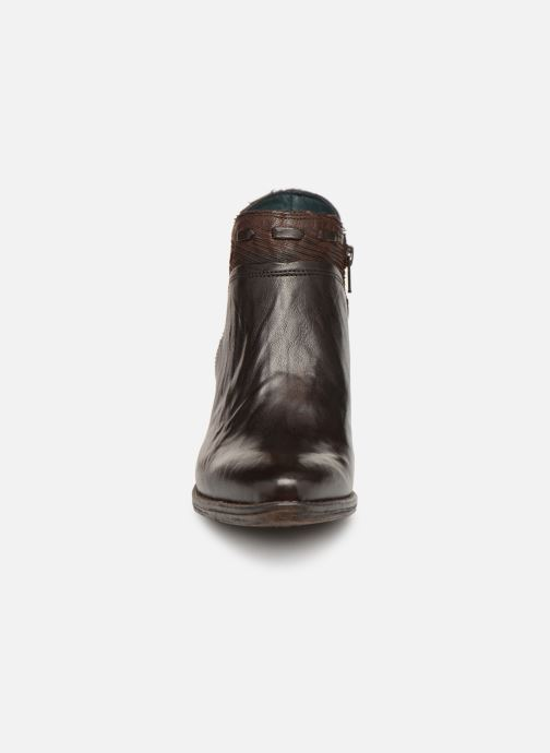 Ankle boots Khrio Polacco 2402 Brown model view