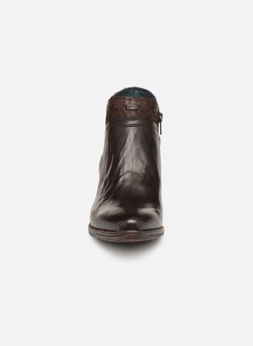 Bottines et boots Khrio Polacco 2402 Marron vue portées chaussures