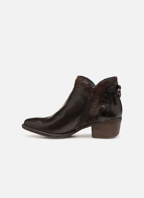 Ankle boots Khrio Polacco 2402 Brown front view