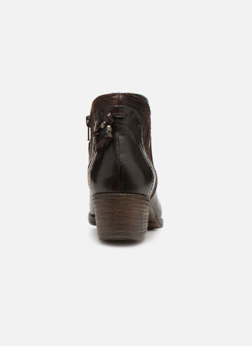 Ankle boots Khrio Polacco 2402 Brown view from the right