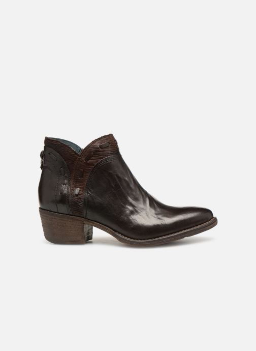Ankle boots Khrio Polacco 2402 Brown back view