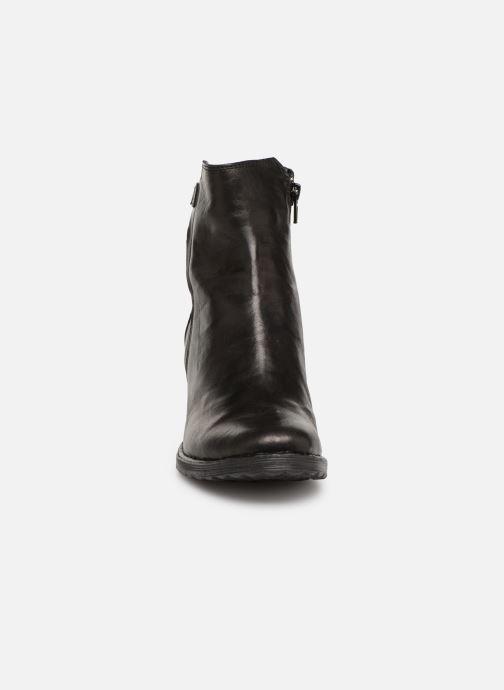 Bottines et boots Khrio Tronchetto 2706 Noir vue portées chaussures
