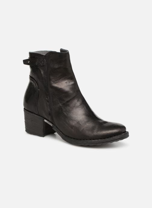 Ankle boots Khrio Tronchetto 2706 Black detailed view/ Pair view