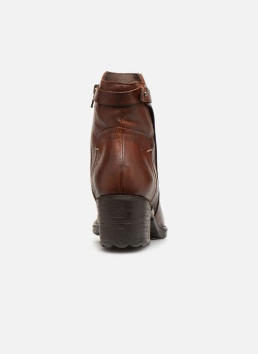 Ankle boots Khrio Tronchetto 2706 Brown view from the right