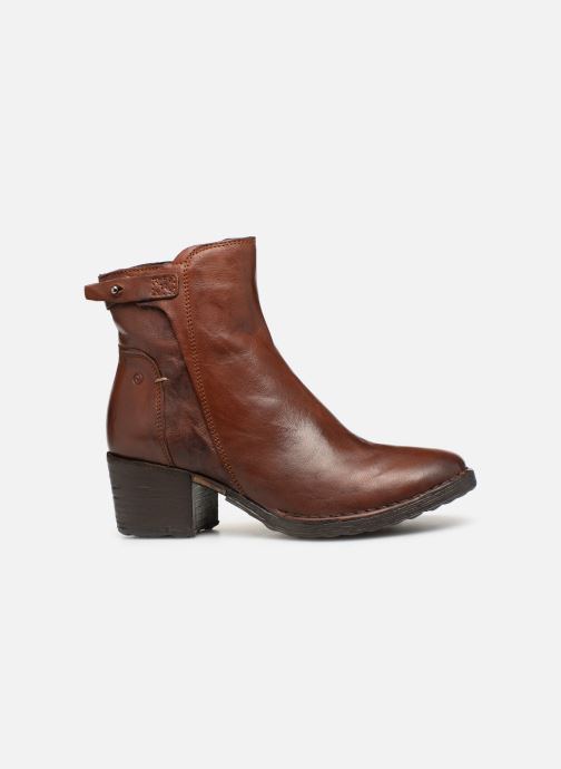 Ankle boots Khrio Tronchetto 2706 Brown back view