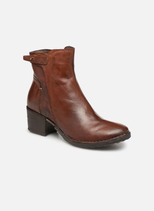 Ankle boots Khrio Tronchetto 2706 Brown detailed view/ Pair view