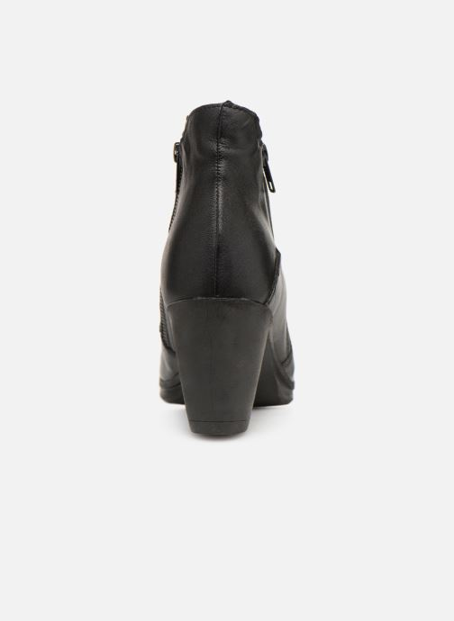 Ankle boots Khrio Polacco 3214 Black view from the right
