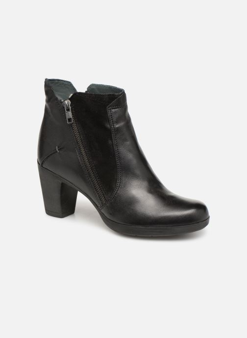 Ankle boots Khrio Polacco 3214 Black detailed view/ Pair view