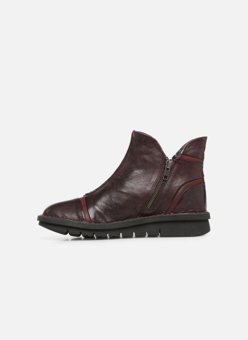 Bottines et boots Khrio Polacco 5003 Bordeaux vue face