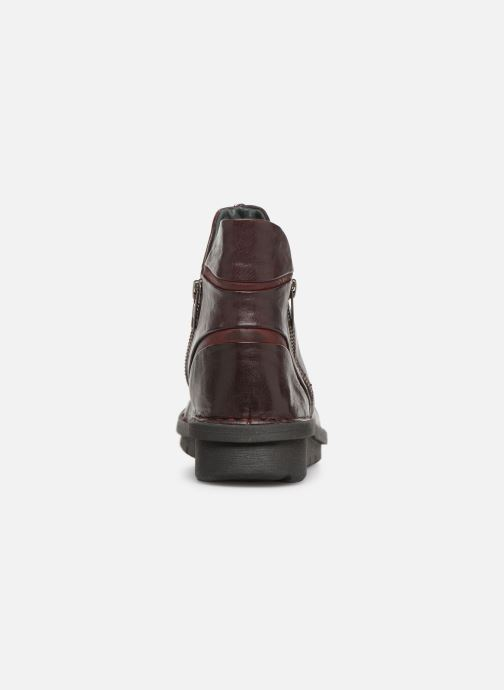 Bottines et boots Khrio Polacco 5003 Bordeaux vue droite