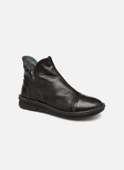 Boots en enkellaarsjes Khrio Polacco 5003 Zwart detail