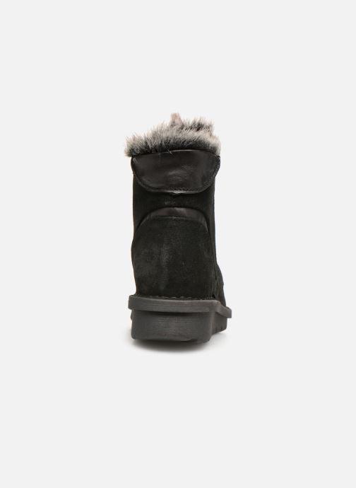 Boots en enkellaarsjes Khrio Polacco 5009 Zwart rechts