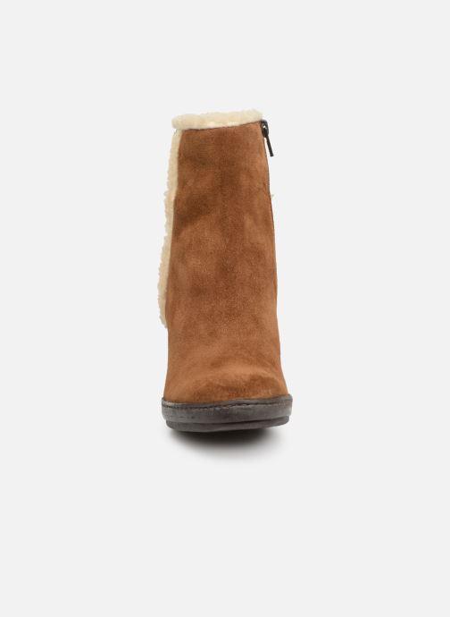 Bottines et boots Khrio Tronchetto 6600 Marron vue portées chaussures