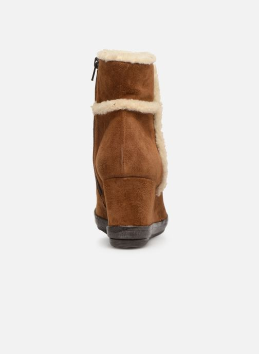 Bottines et boots Khrio Tronchetto 6600 Marron vue droite