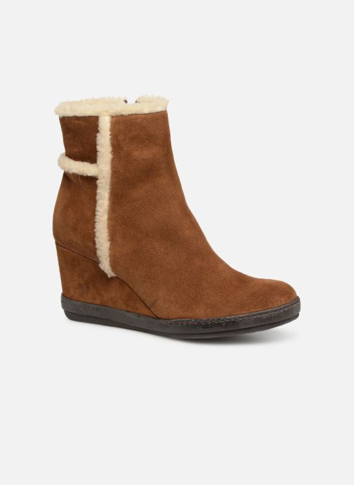 Bottines et boots Khrio Tronchetto 6600 Marron vue détail/paire