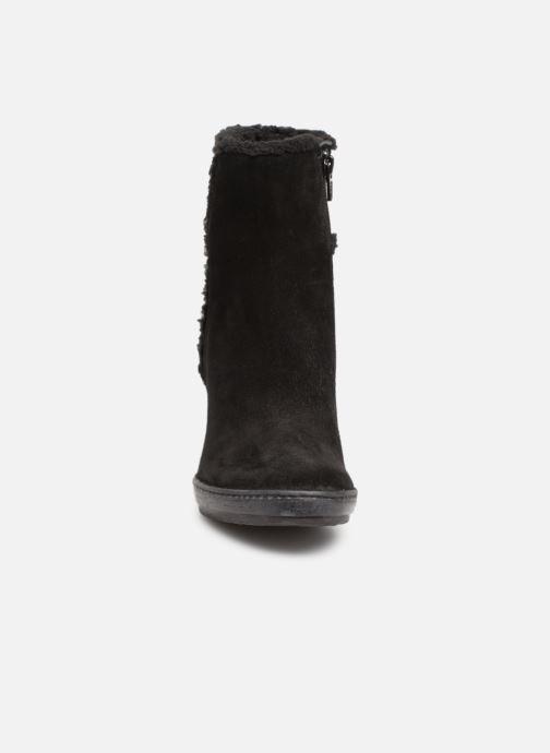 Bottines et boots Khrio Tronchetto 6600 Noir vue portées chaussures