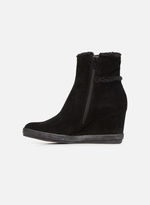 Bottines et boots Khrio Tronchetto 6600 Noir vue face