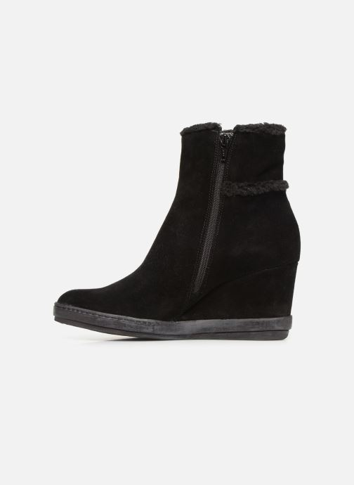 Ankle boots Khrio Tronchetto 6600 Black front view