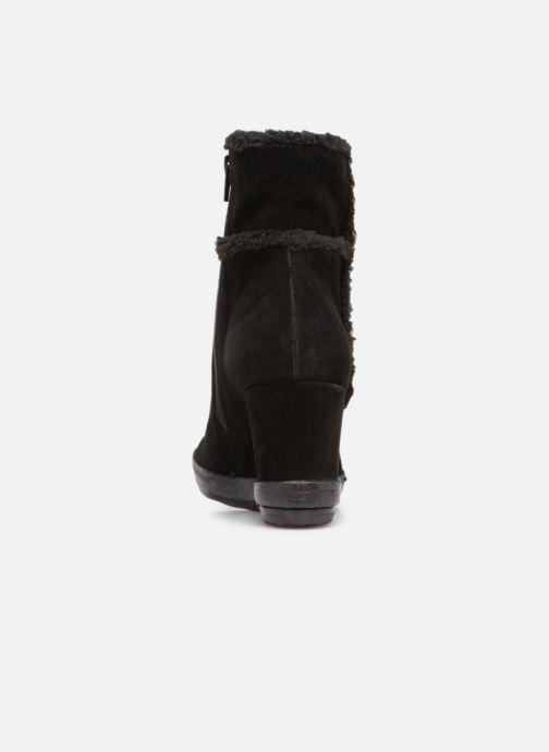 Bottines et boots Khrio Tronchetto 6600 Noir vue droite