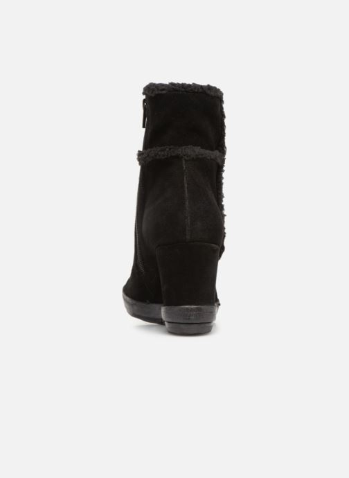 Ankle boots Khrio Tronchetto 6600 Black view from the right