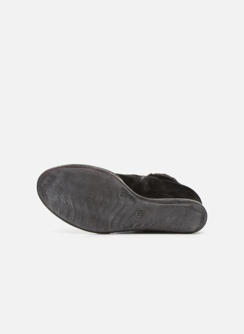 Bottines et boots Khrio Tronchetto 6600 Noir vue haut