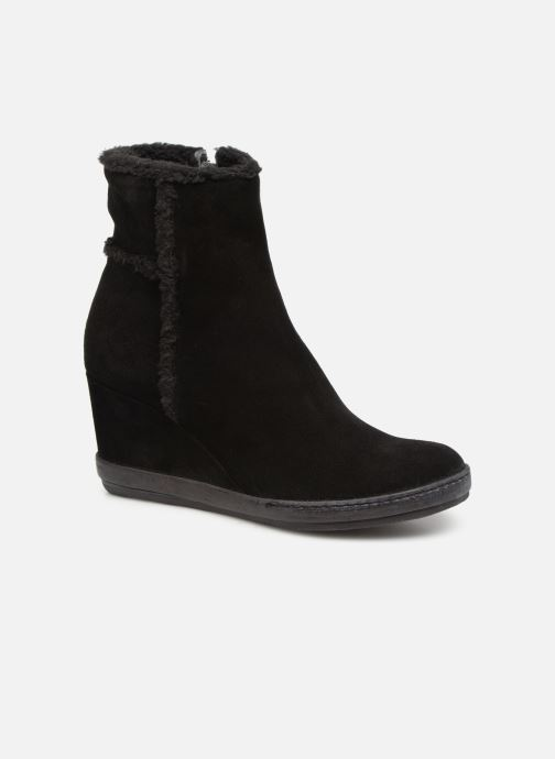 Ankle boots Khrio Tronchetto 6600 Black detailed view/ Pair view