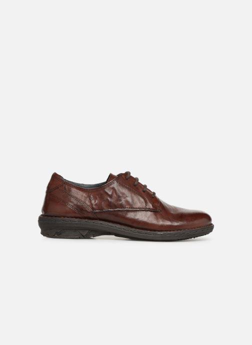 Chaussures à lacets Khrio Scarpa 1003 Marron vue derrière
