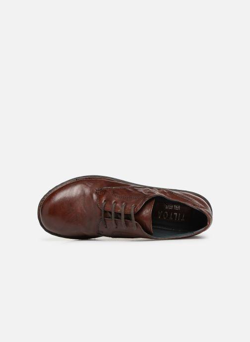 Chaussures à lacets Khrio Scarpa 1003 Marron vue gauche