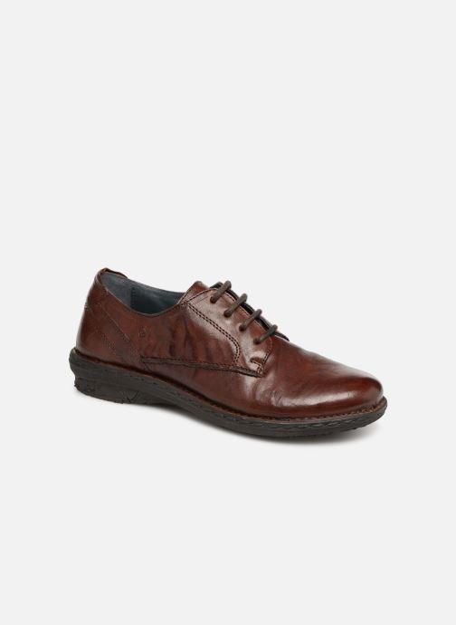 Chaussures à lacets Khrio Scarpa 1003 Marron vue détail/paire