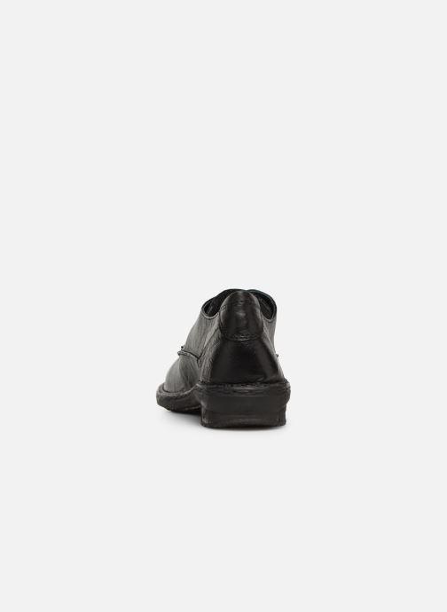 Schnürschuhe Khrio Scarpa 1003 schwarz ansicht von rechts