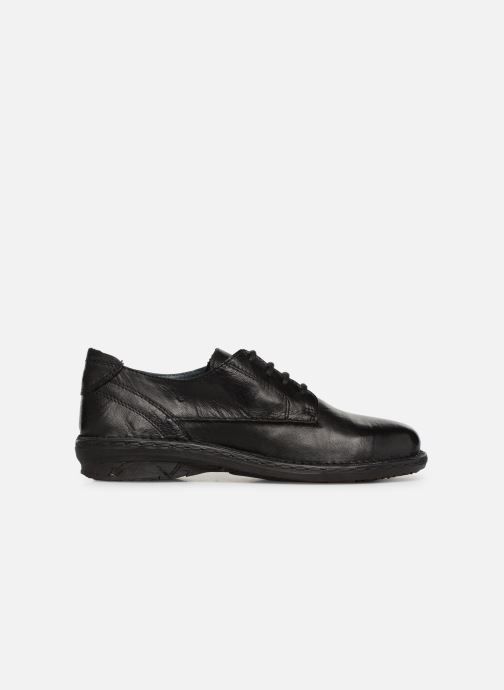 Lace-up shoes Khrio Scarpa 1003 Black back view