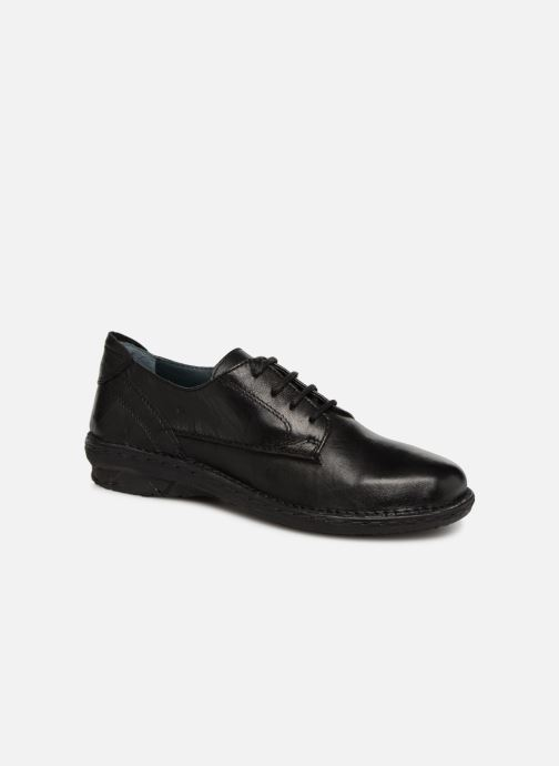 Lace-up shoes Khrio Scarpa 1003 Black detailed view/ Pair view