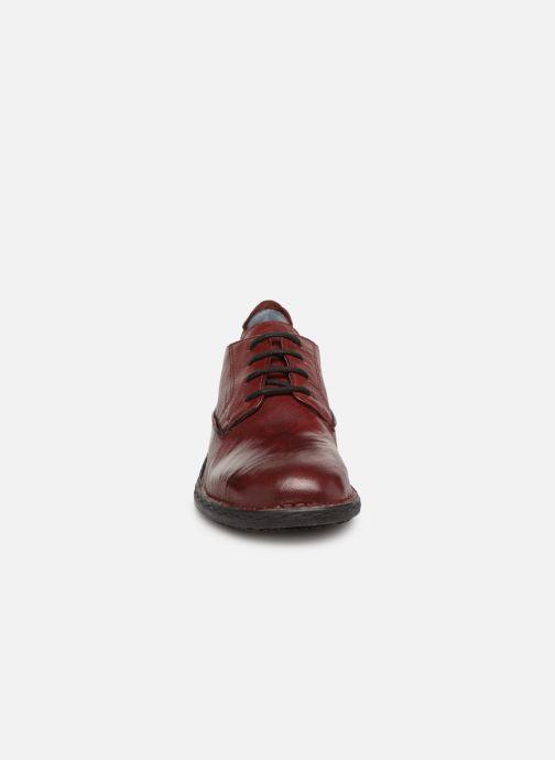 Chaussures à lacets Khrio Scarpa 1003 Bordeaux vue portées chaussures
