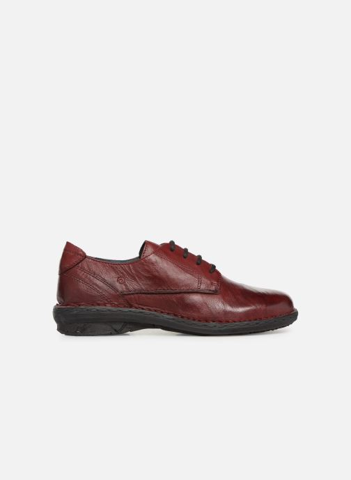 Zapatos con cordones Khrio Scarpa 1003 Vino vistra trasera