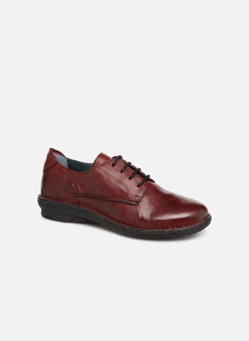 Chaussures à lacets Khrio Scarpa 1003 Bordeaux vue détail/paire