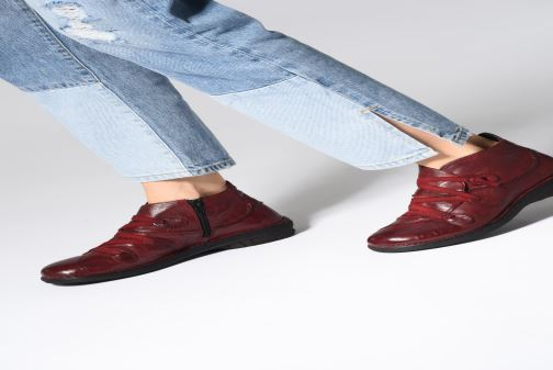 Stiefeletten & Boots Khrio Scarpa 1019 rot ansicht von unten / tasche getragen