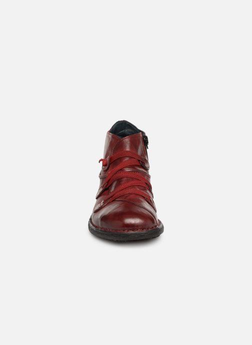 Stiefeletten & Boots Khrio Scarpa 1019 rot schuhe getragen