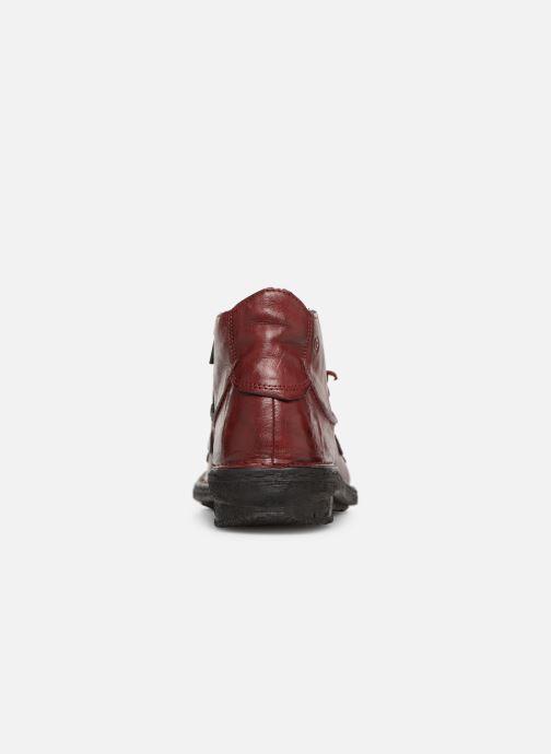 Stiefeletten & Boots Khrio Scarpa 1019 rot ansicht von rechts