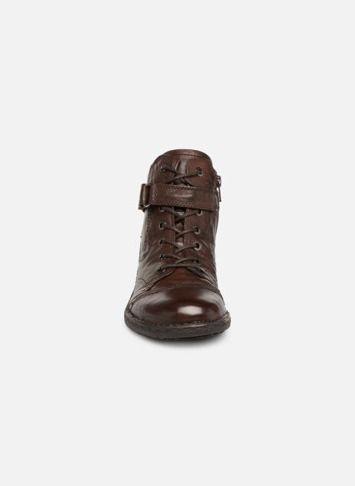 Ankle boots Khrio Polacco 1000 Brown model view